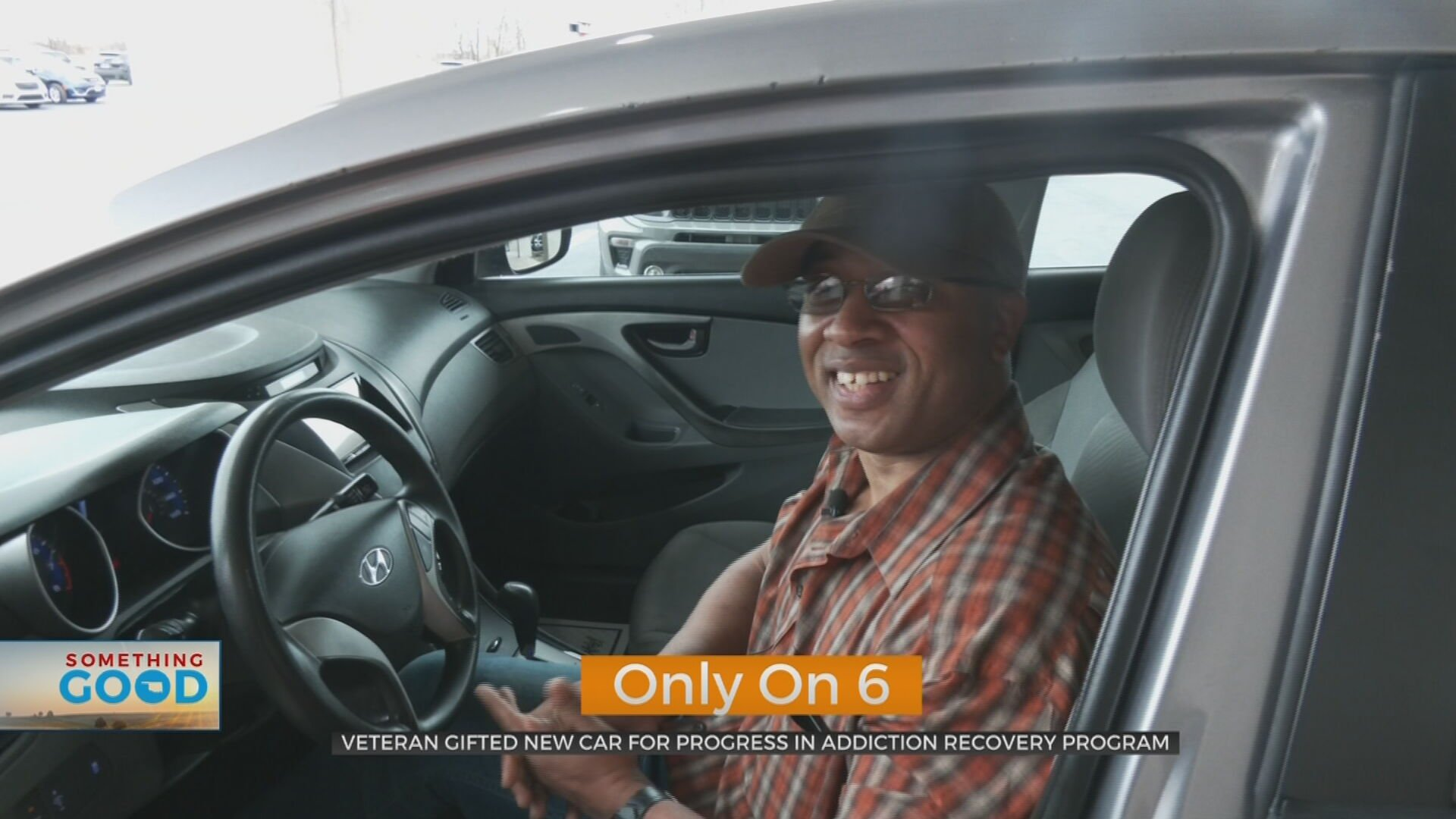 Veteran Surprised With New Car To Celebrate Graduating Addiction Recovery Program