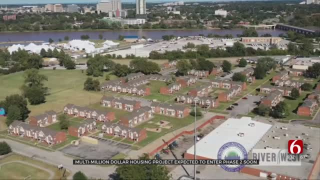 Multi-Million Dollar Housing Project To Revitalize Tulsa's River West Area In Progress