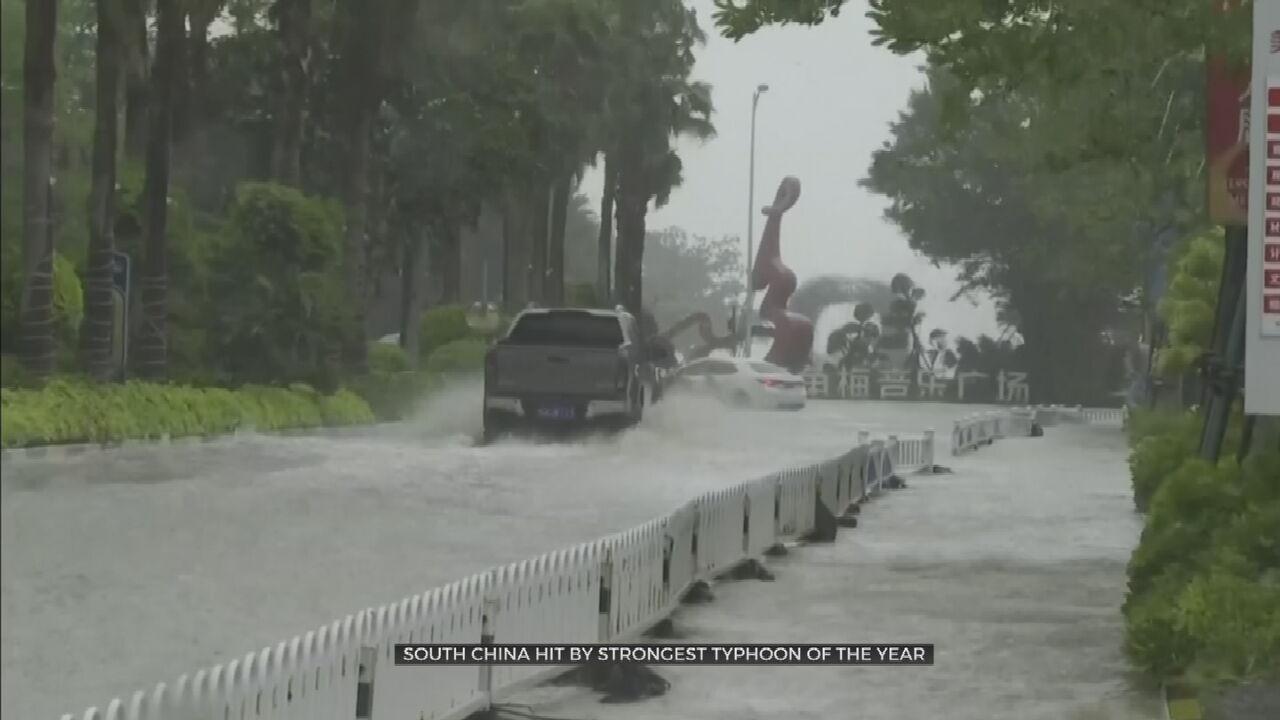 1 dead, 21 Injured As Severe Storm Hits Hong Kong