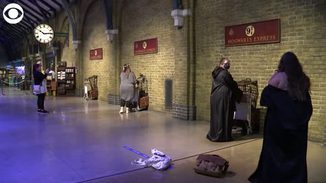 WATCH: Harry Potter Studio Tour Reopens In England