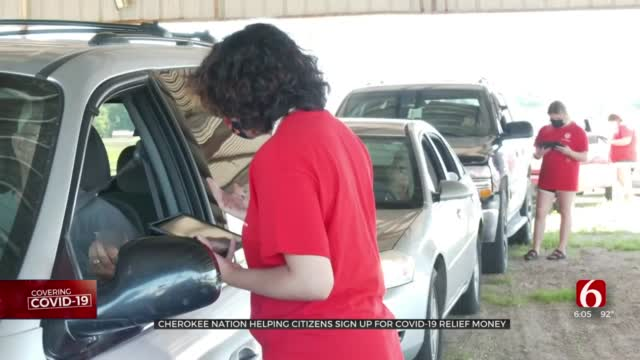 Cherokee Nation Helps Citizens Sign Up For COVID-19 Relief Money