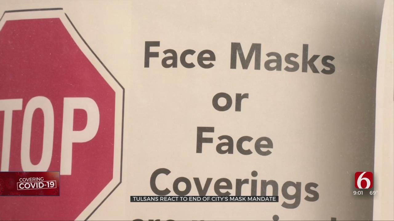 Tulsa's Mask Mandate No Longer In Effect