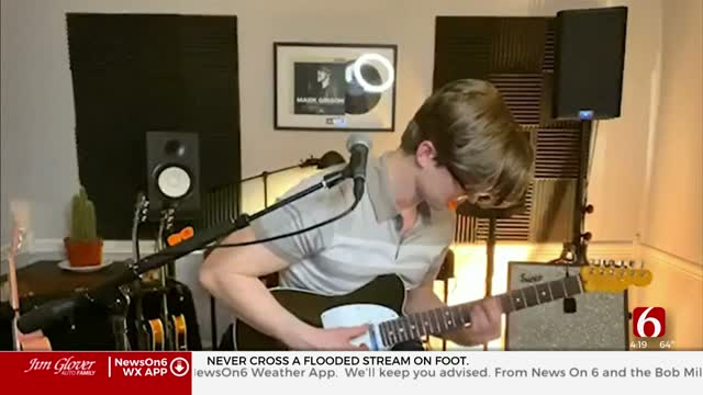 Local Artist Mark Gibson Doing Facebook Live Concerts