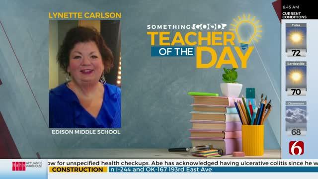 Teacher Of The Day: Lynette Carlson