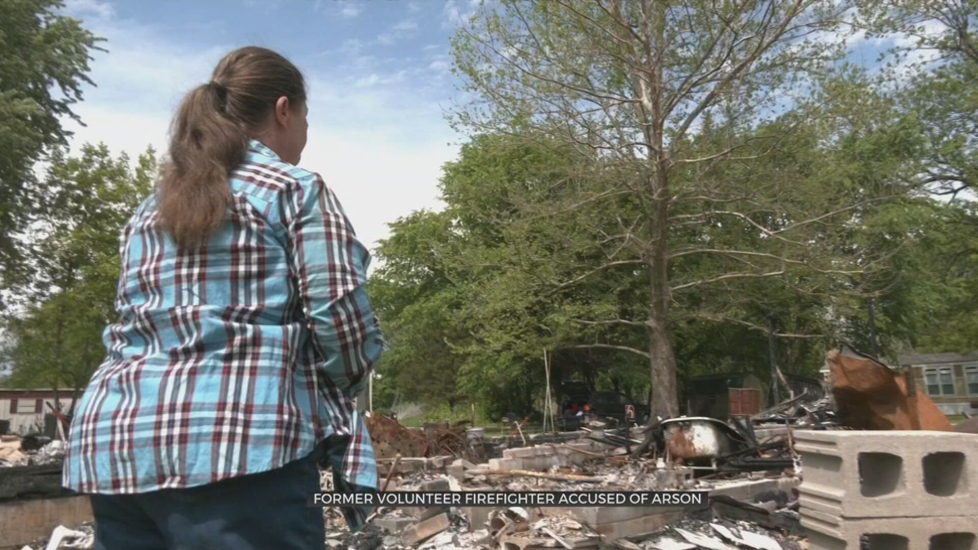 Former Avant Volunteer Firefighter Accused Of Burning Down Cousin's Home