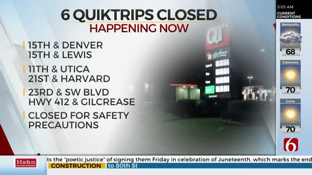 Multiple QuikTrip Locations Temporarily Closed