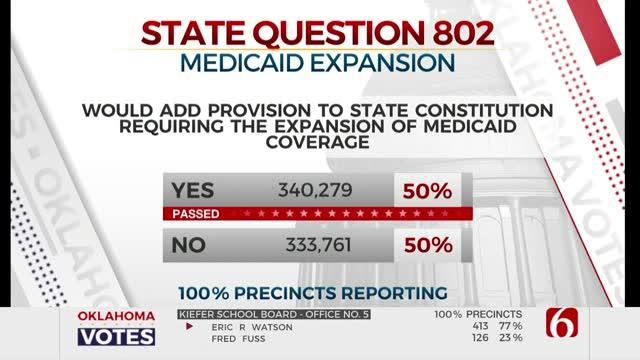 Oklahomans Vote To Expand Medicaid