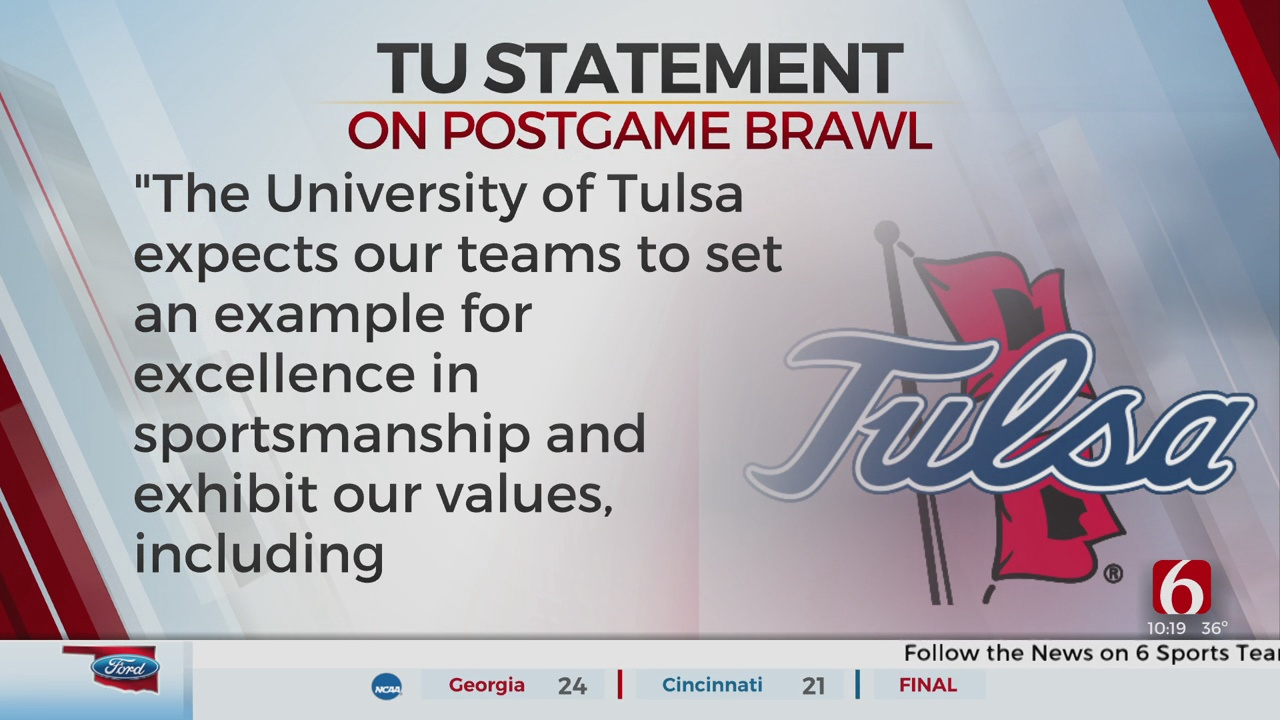 TU Interim Athletic Director, Head Football Coach Release Statements On Postgame Bowl Brawl