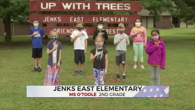 Daily Pledge: Ms. O'Toole's 2nd Grade Class