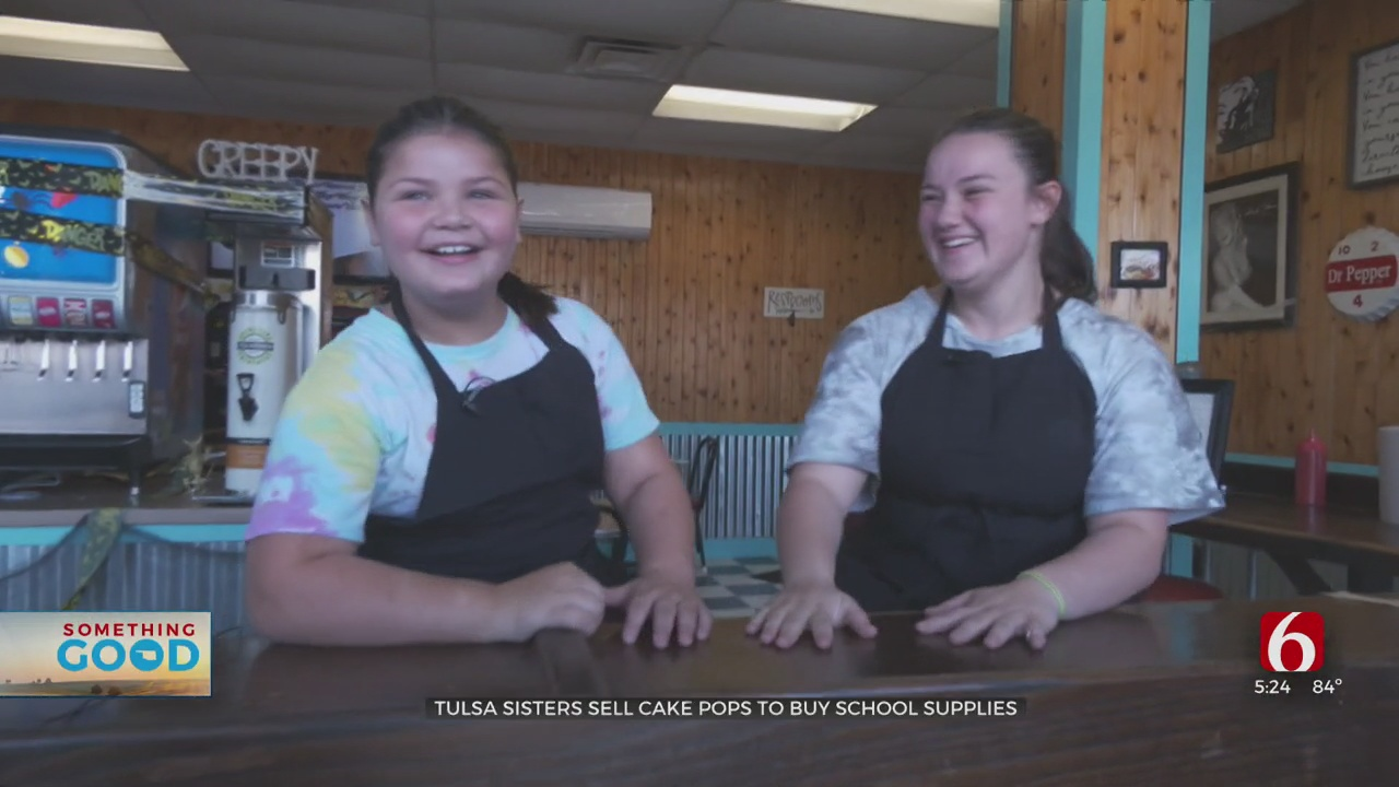 Tulsa Sisters Start Cake Pop Business To Buy School Supplies For Kids In Need