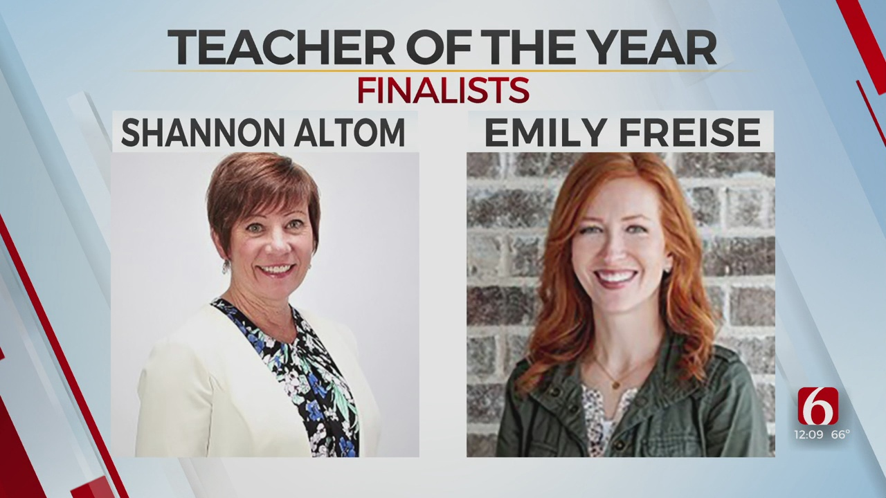 12 Finalists Announced For Oklahoma's Teacher Of The Year