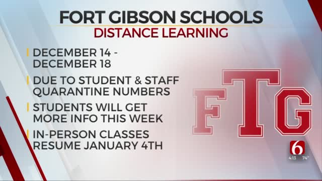 Fort Gibson Public Schools Move To Virtual Learning