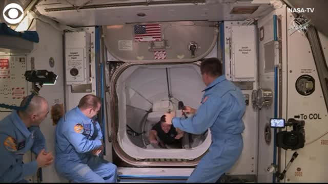 WATCH: Astronauts Board The International Space Station After SpaceX Flight