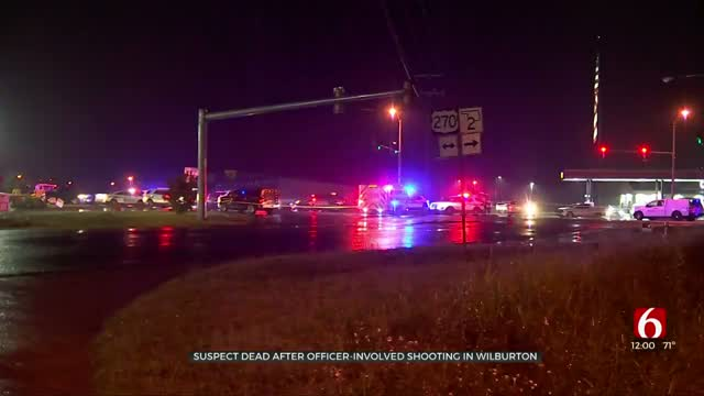 UPDATE: Police, OSBI Investigating After Officer-Involved Shooting In Wilburton