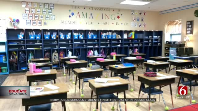 Bixby Students Return To The Classroom