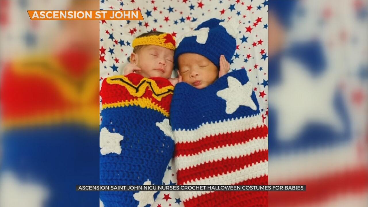 Watch: Nurses Help Babies In NICU Celebrate Halloween