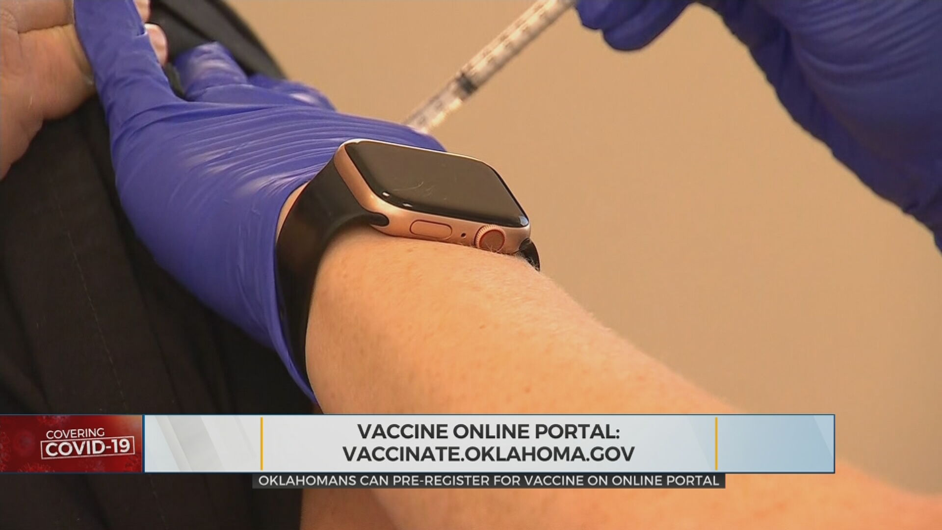 State Health Department Launches Online Portal For Registration, COVID-19 Vaccine Appointments