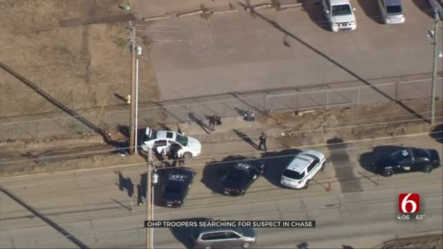 Troopers Searching For Driver After Chase Ends