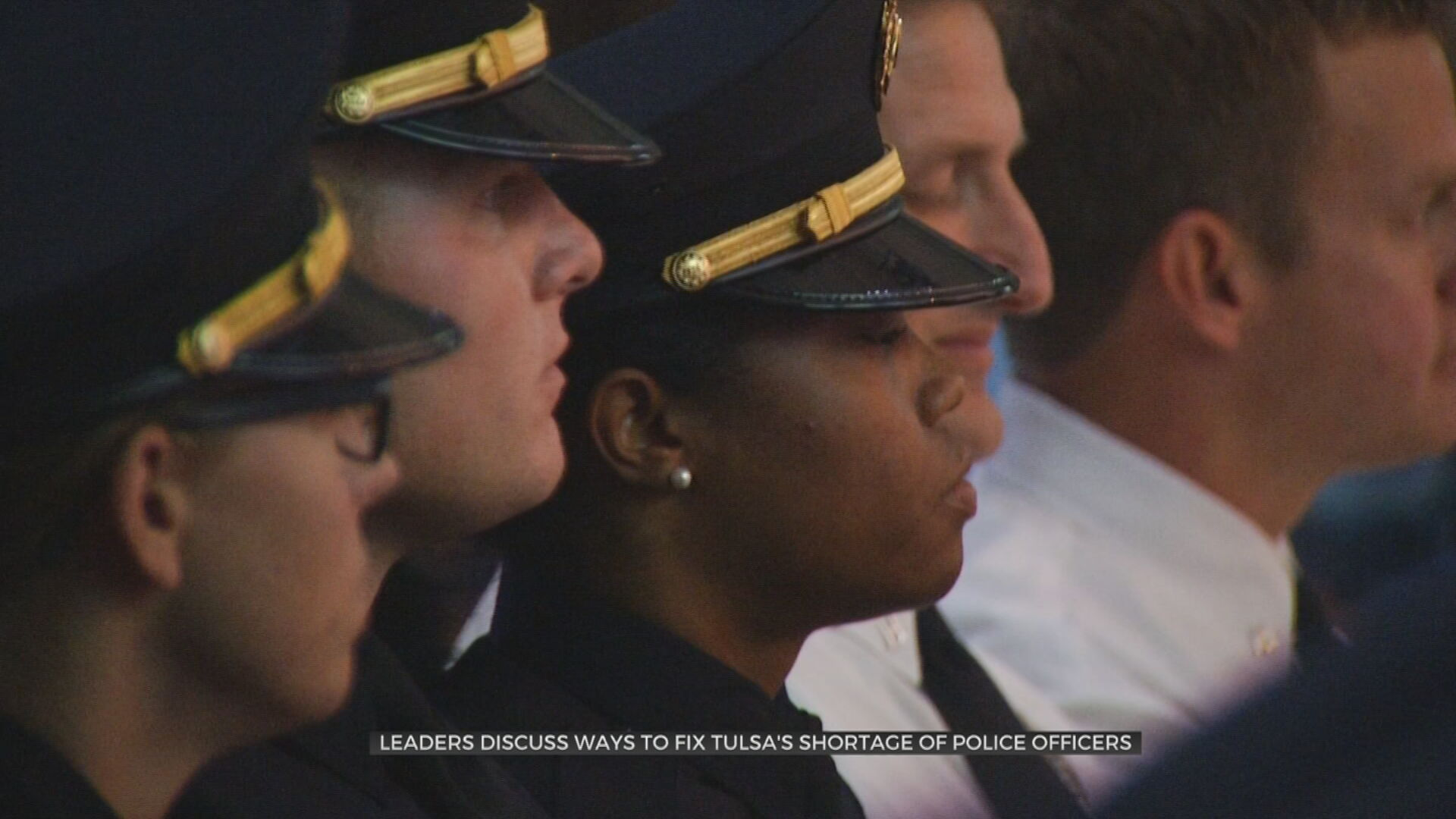 City Leaders Work To Fix Tulsa's Shortage Of Police Officers