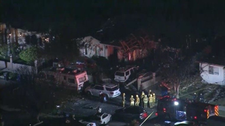 2 Injured In Los Angeles House Explosion