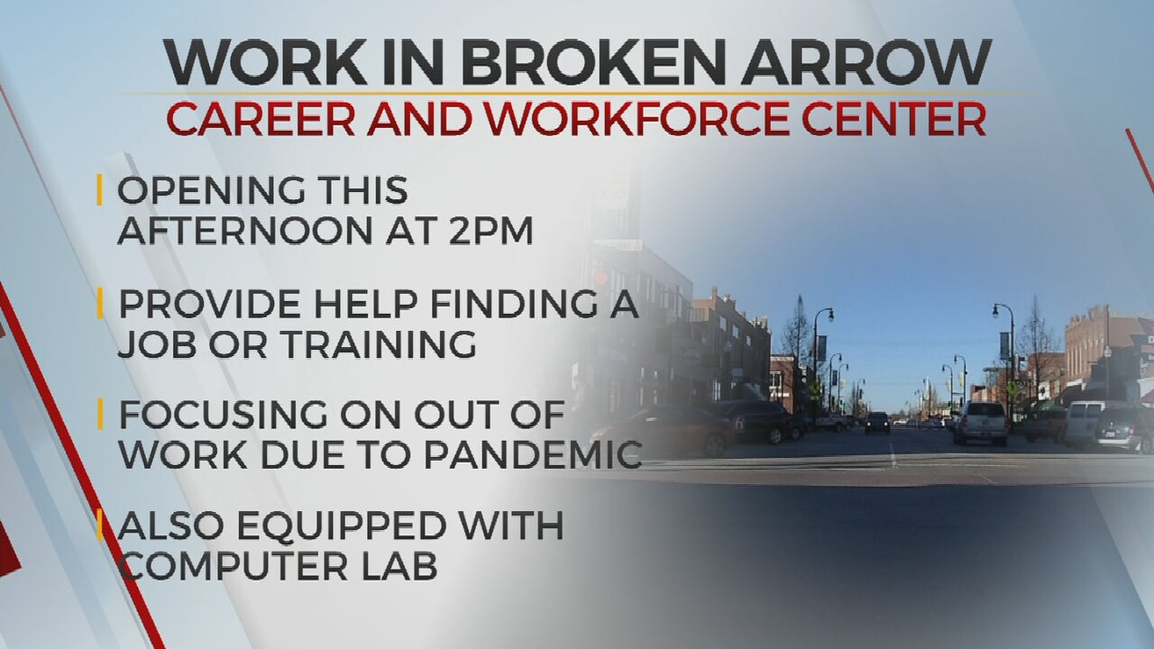 New Career, Job Center To Open In Broken Arrow Chamber Of Commerce Building