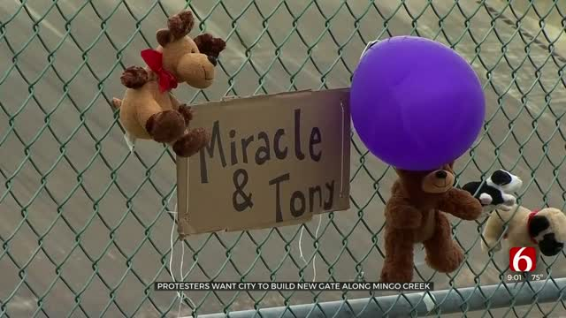Community Pushes To Add Gates To Open Gaps In Fence After Tulsa Toddler Deaths