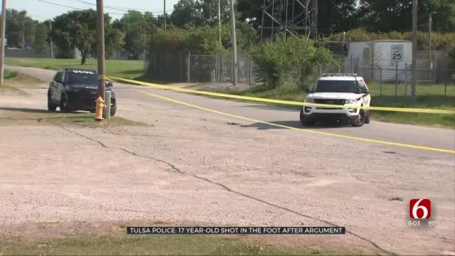 17-Year-Old Shot In The Foot In Drive-By Tulsa Shooting