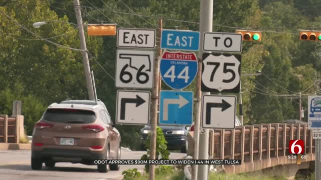 ODOT Gives Green Light For $87 Million Project To Improve I-44 In West Tulsa