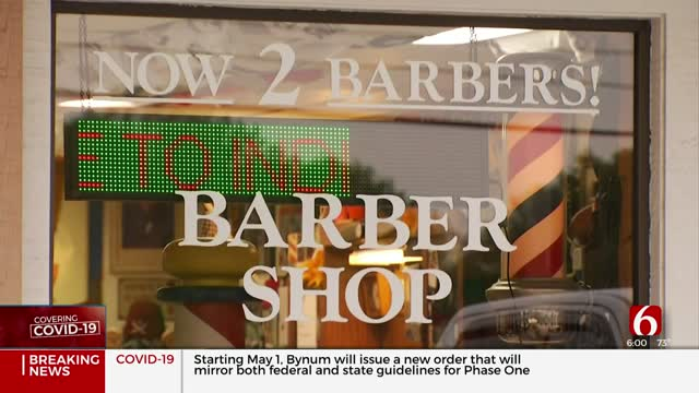 Broken Arrow Barbershop Not Opening Until Safety Assured
