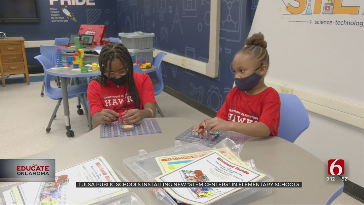 47 STEM Centers Coming To Tulsa Elementary Schools