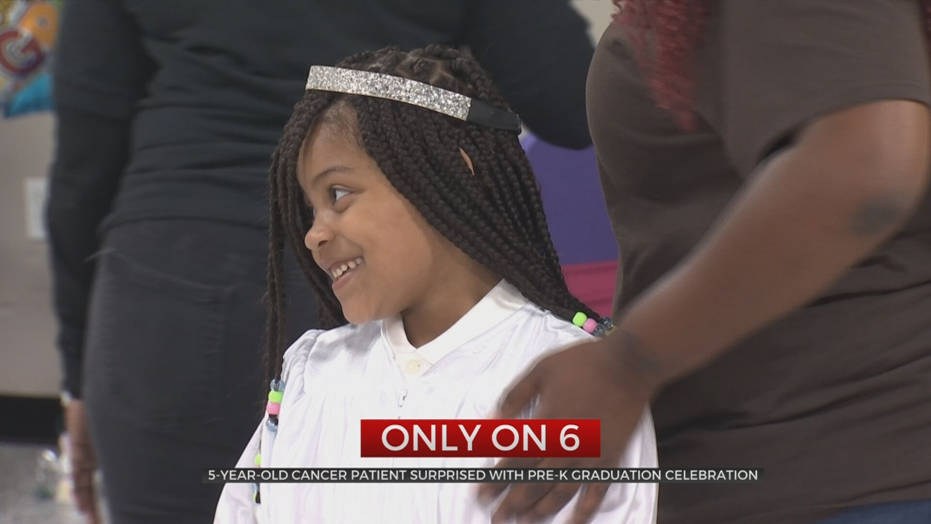 Tulsa 5-Year-Old Cancer Patient Surprised With Pre-K Graduation Celebration