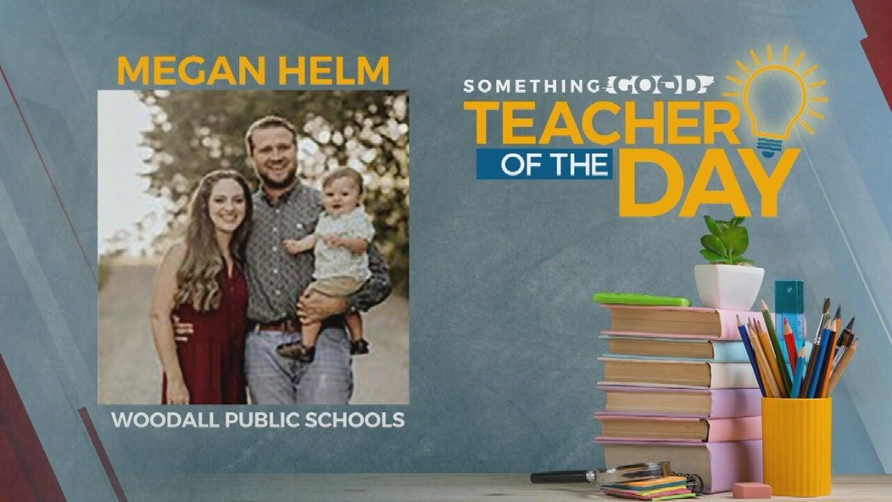 Teacher Of The Day: Megan Helm