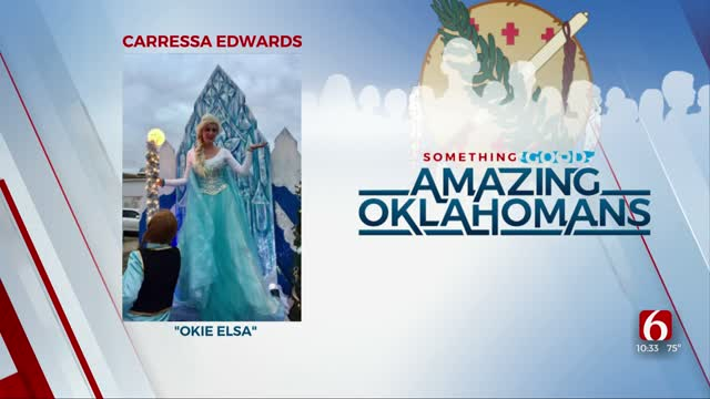 Amazing Oklahoman: Carressa Edwards Brings Cheer To Child Cancer Patients