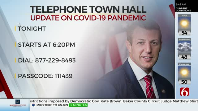 Congressman Markwayne Mullin To Host Telephone Town Hall
