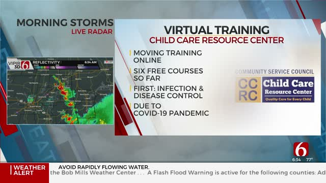Child Care Resource Center Offering Virtual Training Courses