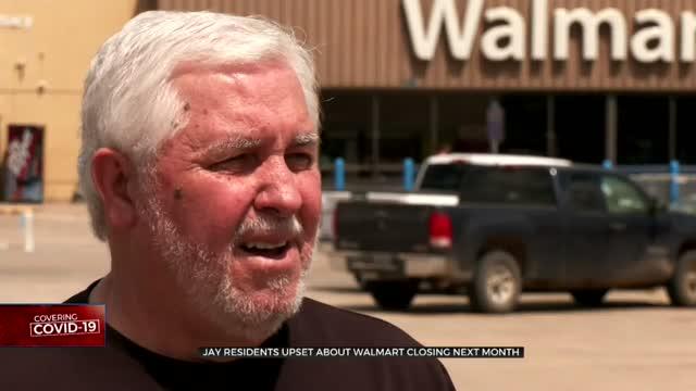 Walmart Closing Store In Jay, Community In Shock