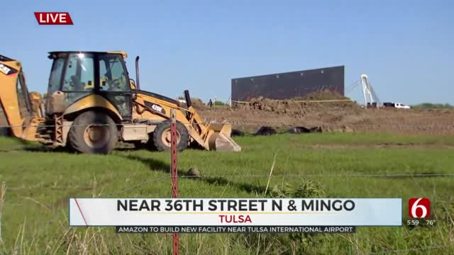 Amazon's New 40-Acre Facility Expected To Bring Jobs, Economic Growth