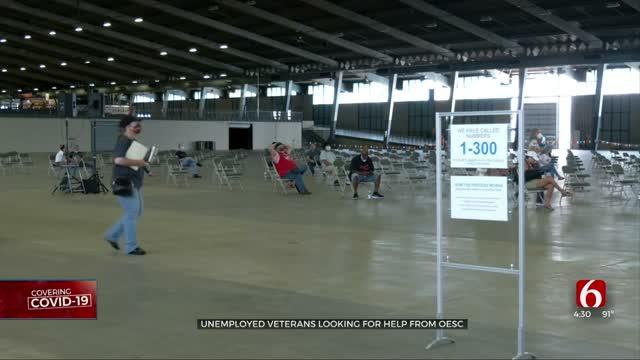 Hundreds Seek Help At OESC Tulsa Unemployment Event