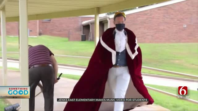 Jenks School Makes Video To Bring Cheer To Students