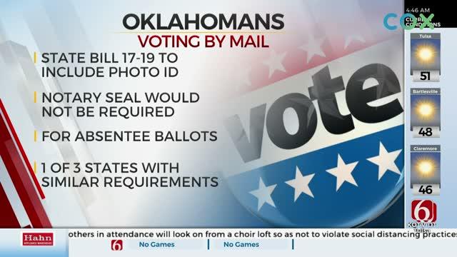 Lawmakers To Discuss Bill Requiring Photo Of ID For Voters Using Absentee Ballots