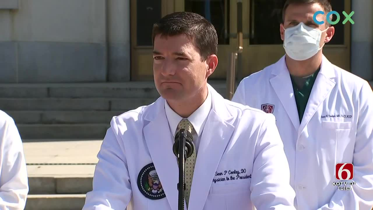 Medical Team Says President's Condition Is Improving 'Could Be Discharged Tomorrow'