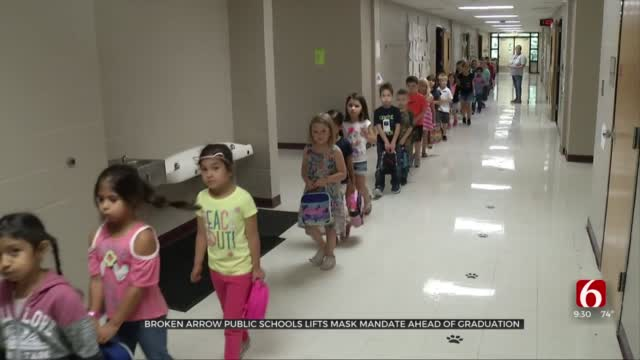 Broken Arrow Public Schools Lifts District Mask Mandate