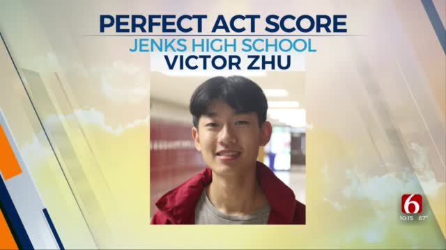 Jenks Student Receives Perfect ACT Score
