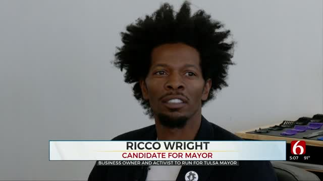 Ricco Wright Discusses Main Goals For Tulsa If Elected Mayor