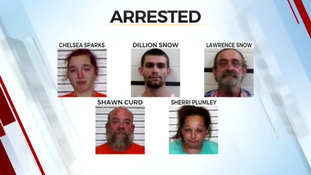 Two More Arrests Made In Connection To Search For Haskell County Man Accused Of Choking Ex-Wife