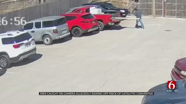 Tulsan Warns Others After Alleged Catalytic Converter Theft Caught On Camera