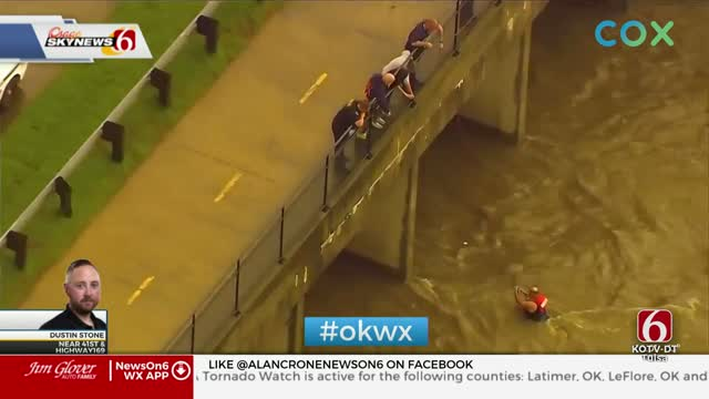 WATCH: First Responders Save 2 Men From High Waters