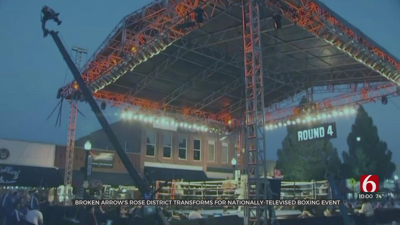 Downtown Broken Arrow Transforms For Nationally-Televised 'Rumble In The Rose District'