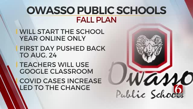 Owasso Public Schools To Begin Semester Virtually