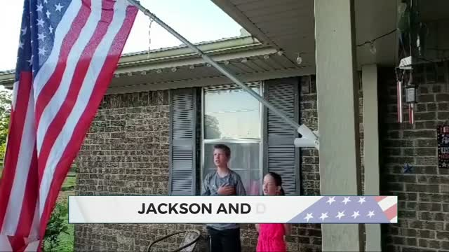 Daily Pledge: Jackson & Delaney